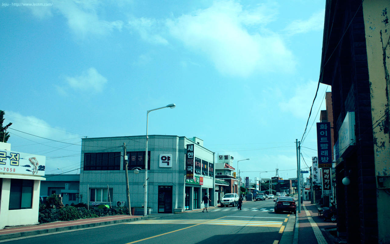 城山日出峰站台往东望去。