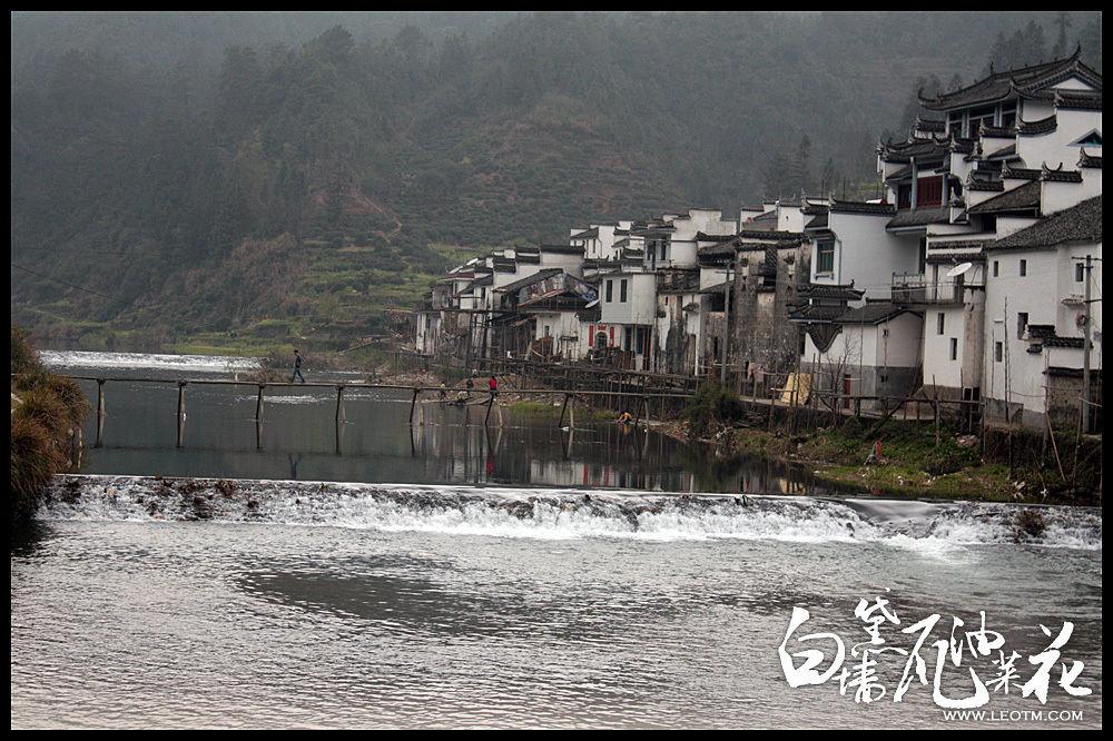 黄村村口的小桥