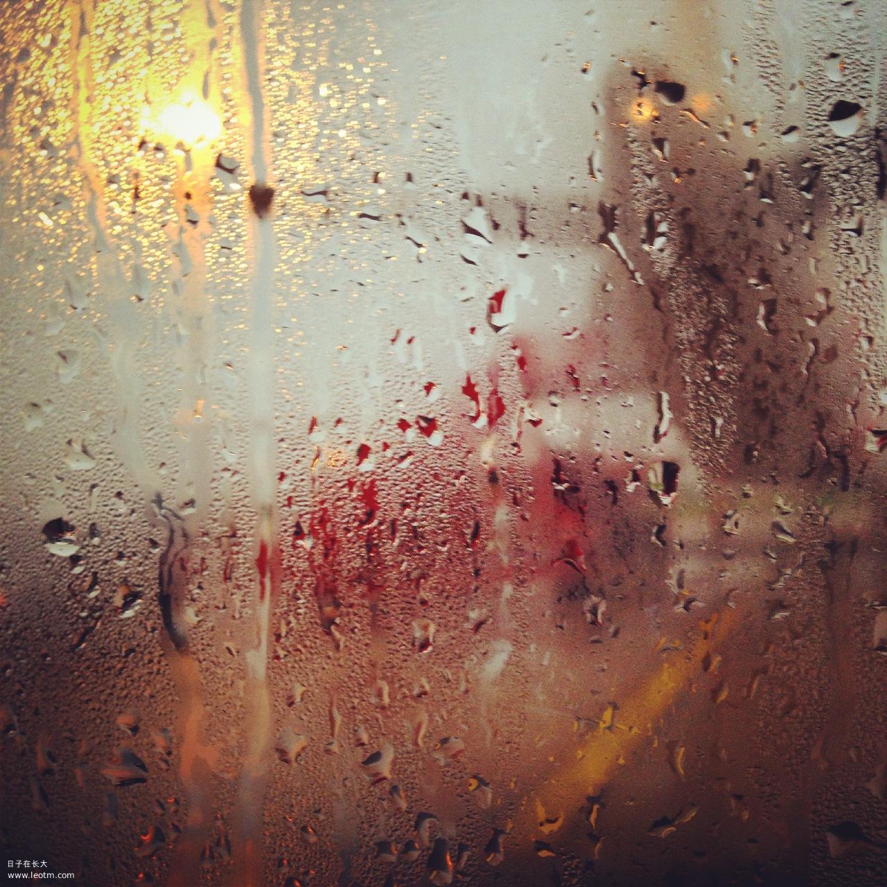 回到曼谷,小雨淅沥