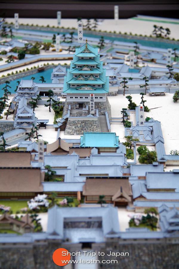 大阪城模型