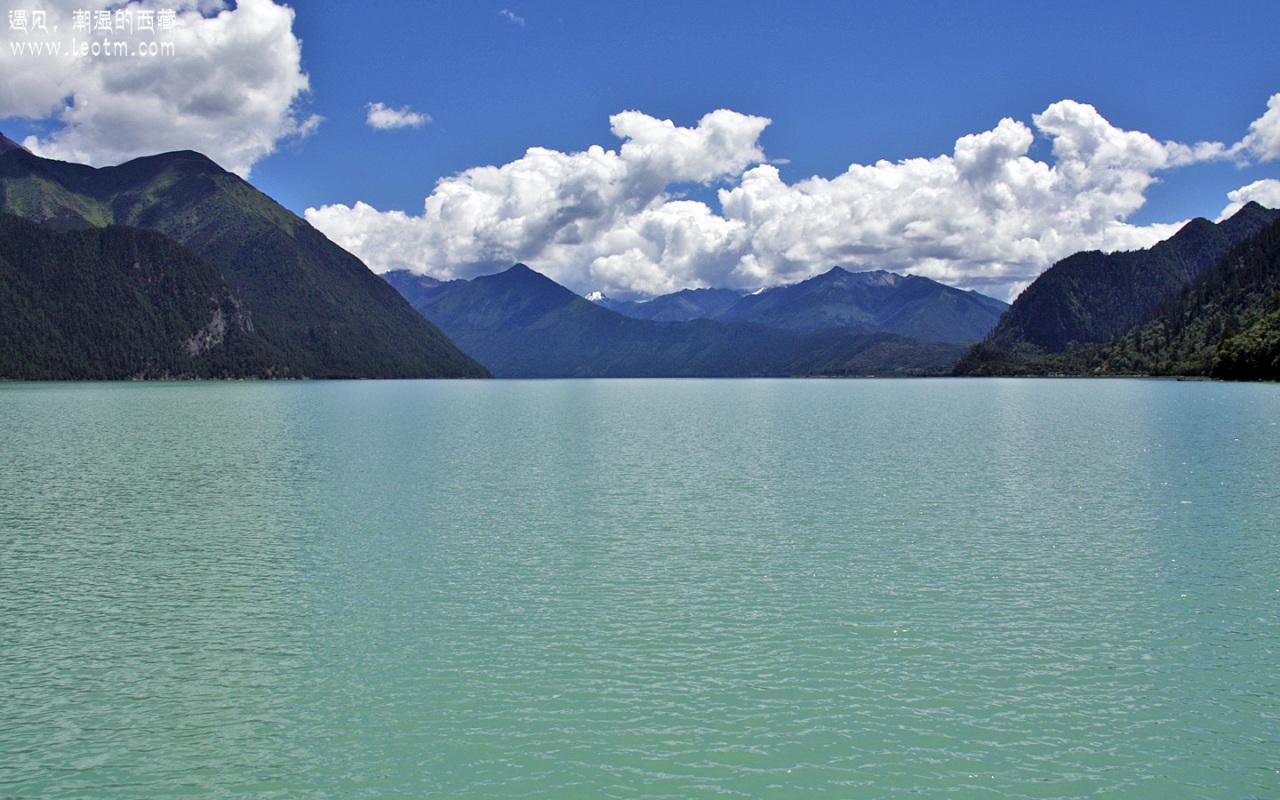 这湖面让人说什么好呢