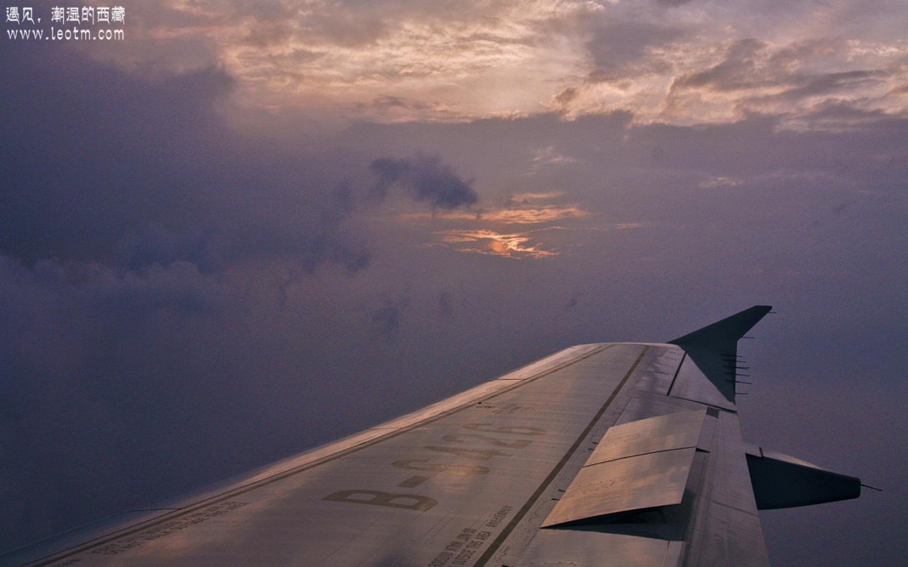 遇见空中的晚霞,算是个圆满的句号吧。