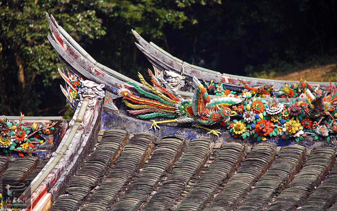 屋檐上的修饰