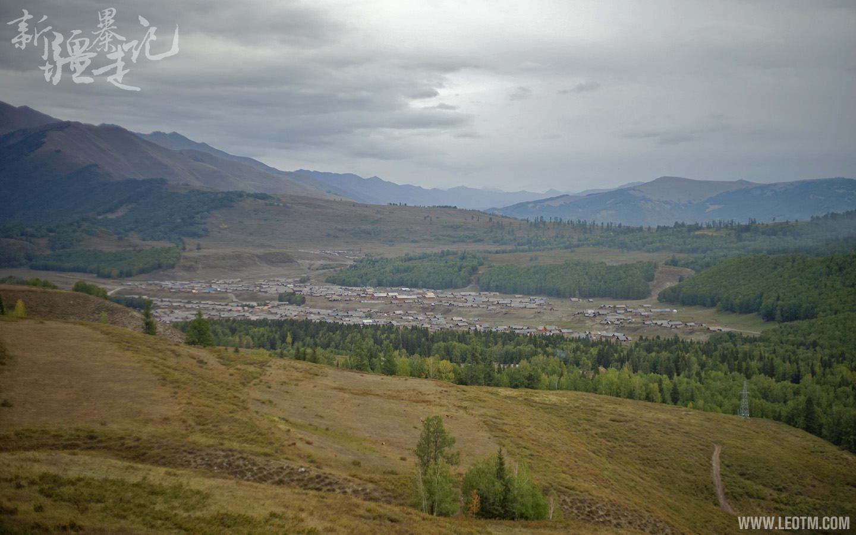 徒步,从贾登峪到禾木,遥看和木村