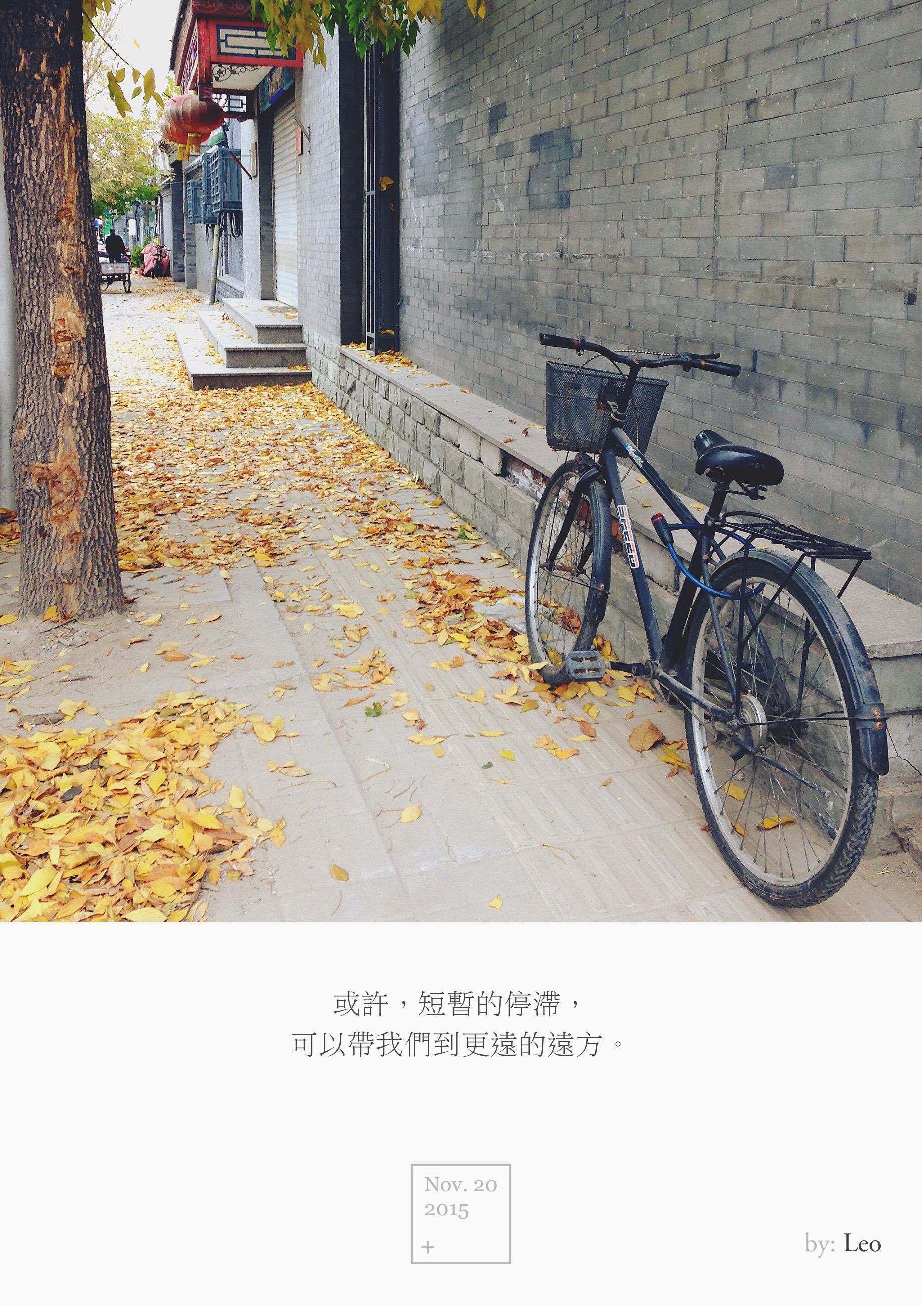 胡同 自行车