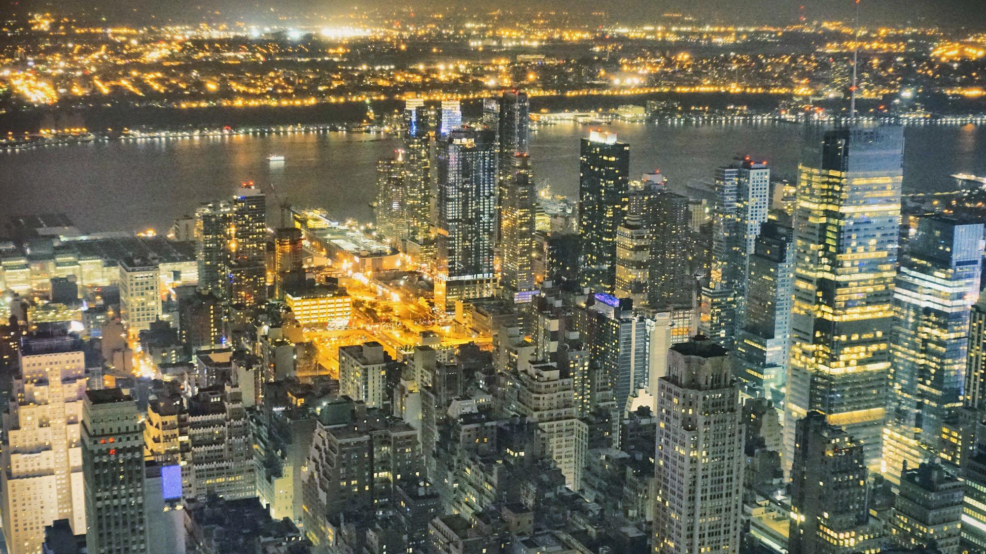 曼哈顿夜景