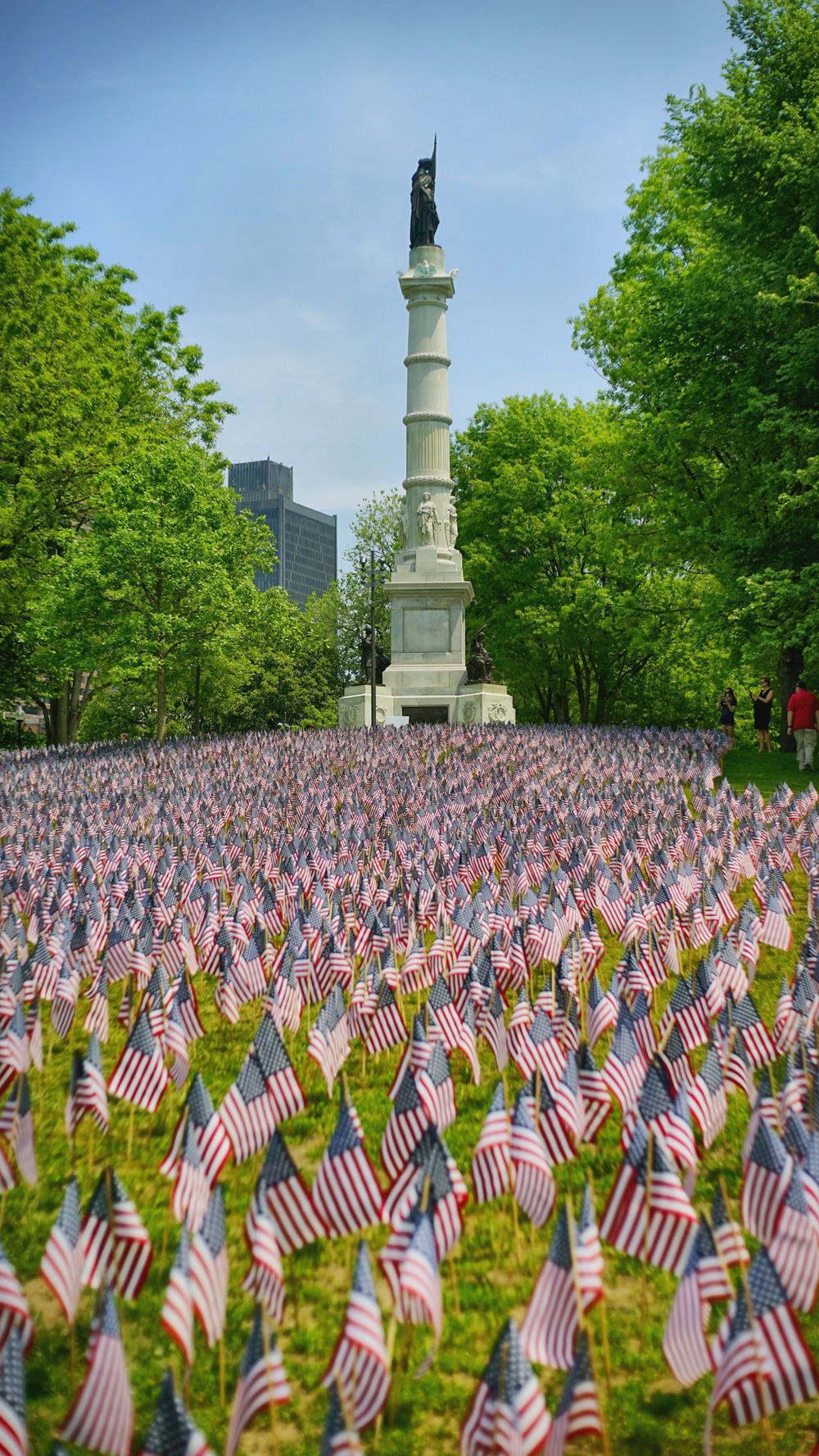 Boston Common,这是当时Memorial Day的纪念活动