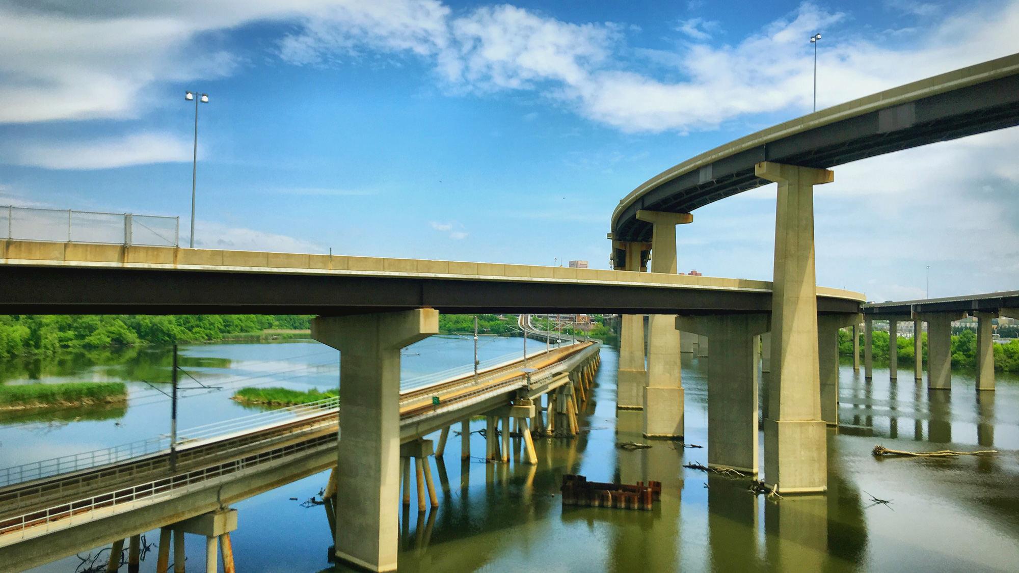 立交桥,路边的风景