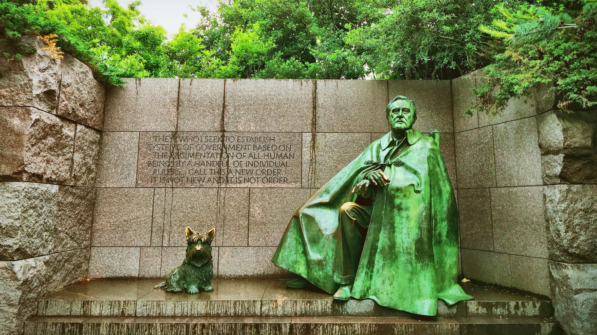 罗斯福纪念堂