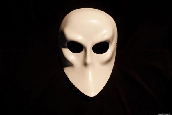 面具,Sleep No More 剧照,图来自Google搜索结果