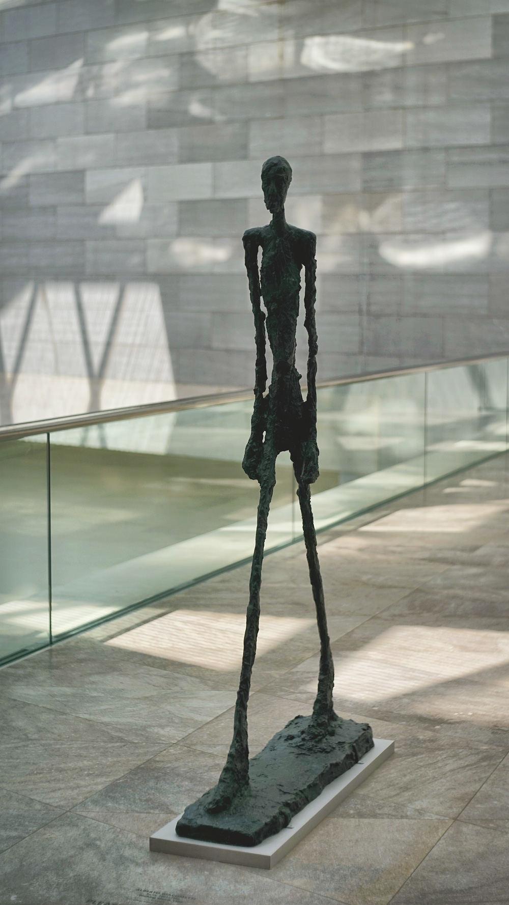 行走的人,国家艺术馆