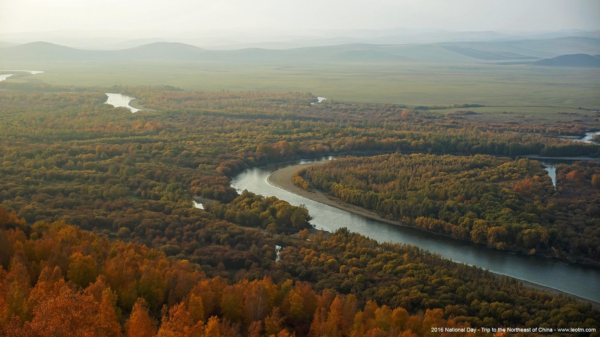 额尔古纳根河湿地公园