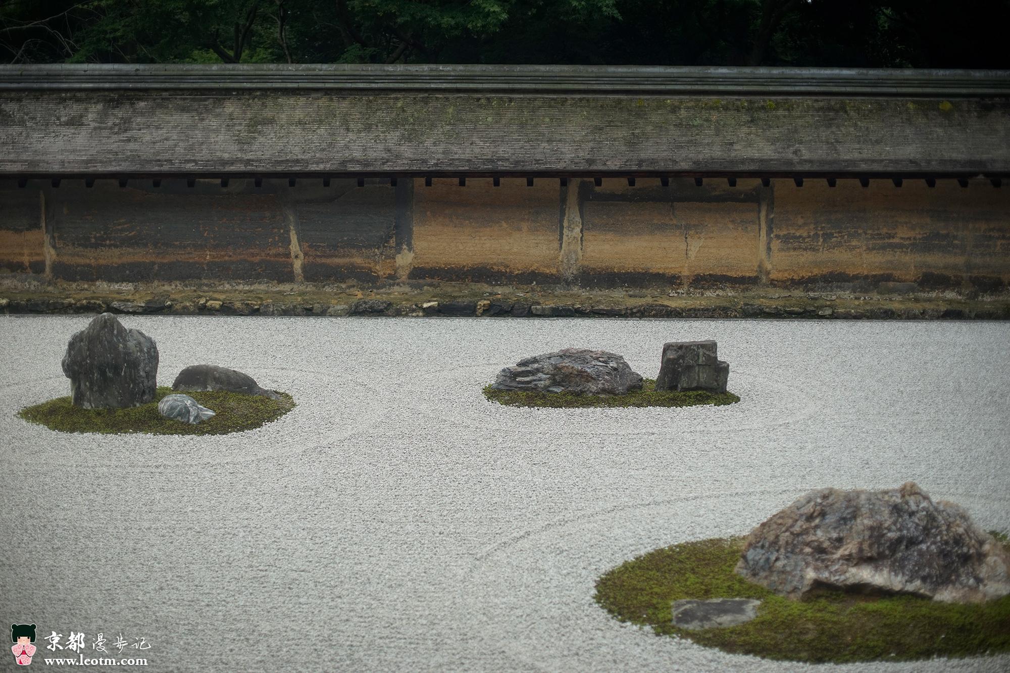 龙安寺枯山水